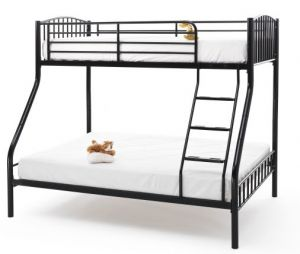 Oslo Three Sleeper Bed Black