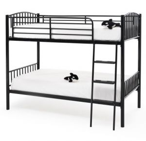 Oslo Twin Bunk Bed Black