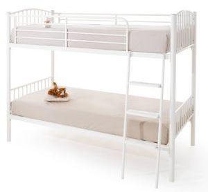 Oslo Twin Bunk Bed White