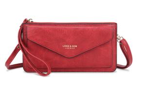 london purse - red
