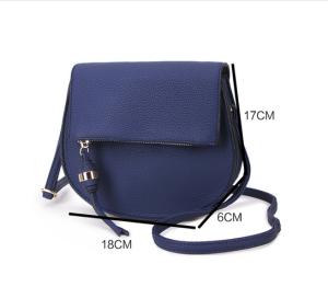 Tassle shoulder bag - navy
