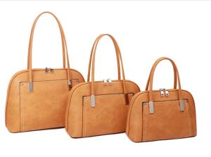 yellow and silver threaded handbag - small