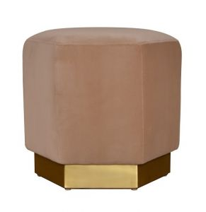 Preston Stool Velvet Beige