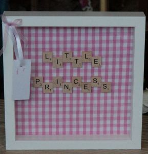 Little Princess Scrabble Frame
