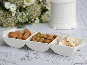 Provence Dish With 3 Dividers