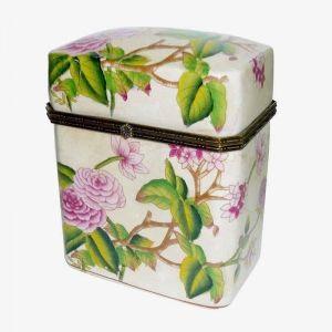 Rectangular Porcelian Box
