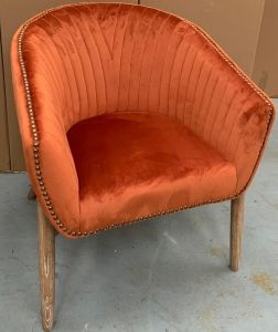 Tempo Tub Chair Rust