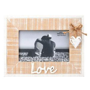 Rustic Love Photo Frame