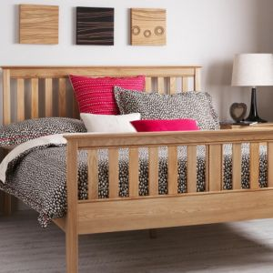 Salisbury Oak Bed