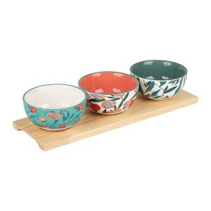 Set of Three Cereal Bowls