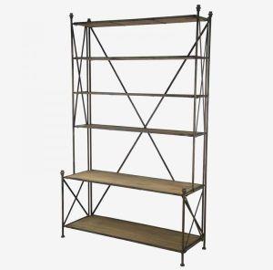 Wooden Set of Six Shelves