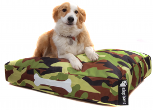 Elephant Dog Beds – Small JungleCamo