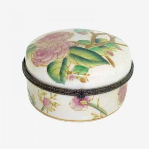 Small Floral Jewellery Box