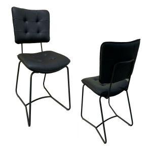 Sutera PU Dining Chair Black