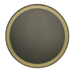 Gold Leaf Wall mirror - round