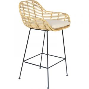 Tiger counter stool