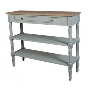 Valerie Console Table 2 Shelf