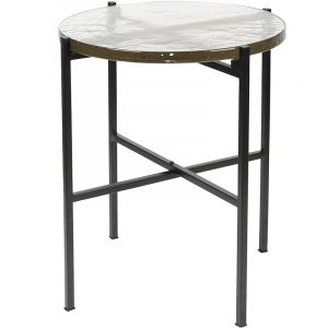 SIDE TABLE VIDRIO BLACK