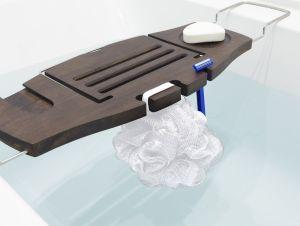 Aquala Bathtub Caddy Walnut