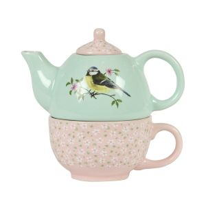 Garden Birds Teapot For One