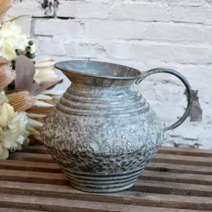Zinc Antique Jug For Decor